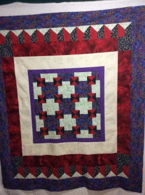 Community Quilt for McDoc
