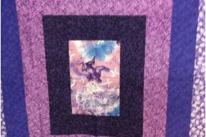 Sample Lavender Lap Quilts