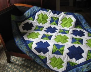 Community Quilt For bleeding heart's niece
