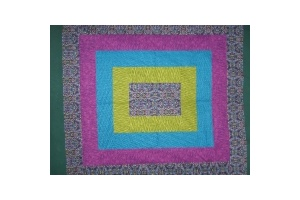 Lavender Quilt - Stained Glass