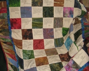 Community Quilt For Carol in San Antonio