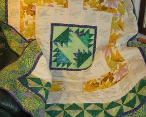 Community Quilt For Timaeus