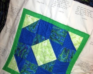 Community Quilt For Unit Zero