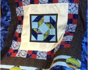 Community Quilt For Dr. Fergie Reid, Sr.
