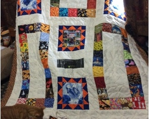Community Quilt For Bill In Portland Main