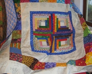 Community Quilt For Dr. William F. Harrison