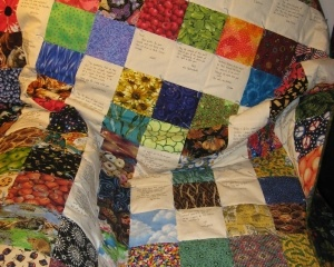 Community Quilt For Frank Cocozzelli