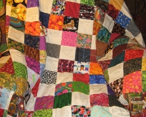 Community Quilt For Larry Bailey