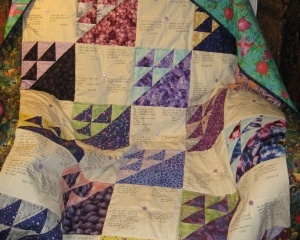 Community Quilt For Lorikeet