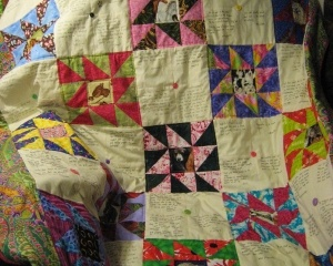 Community Quilt For luvsathroughbred