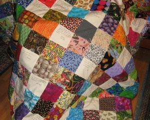 Community Quilt For one bite at a time